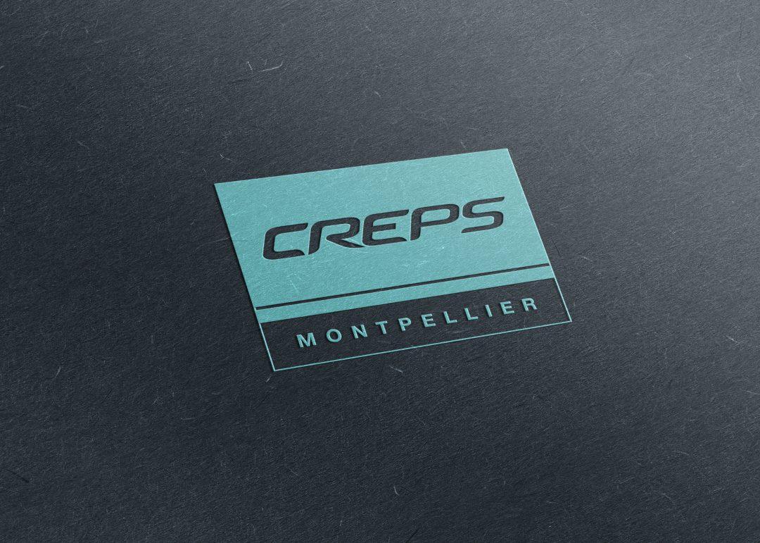 Création du logo du creps de montpellier