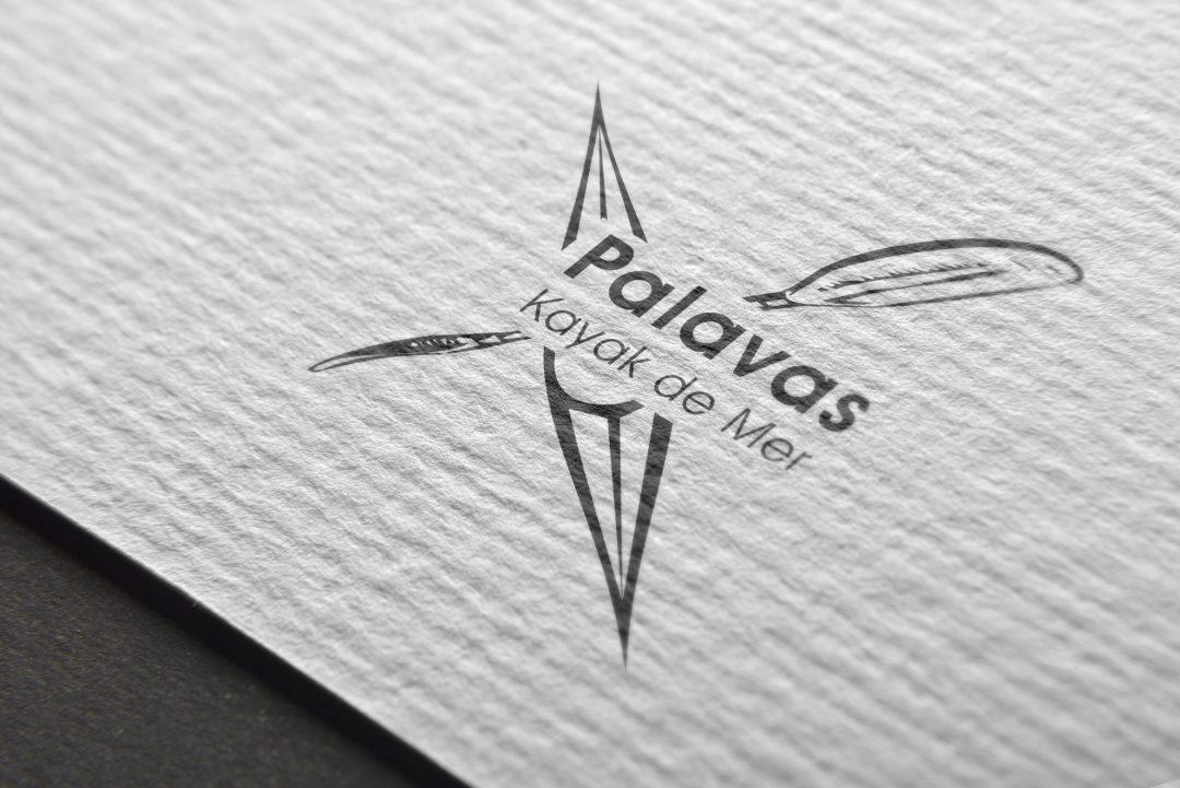 Création graphique logo palavas kayak de mer