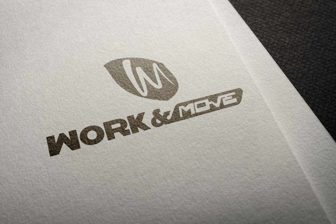 Logo Work And Move